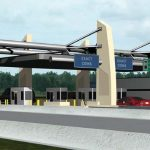 Rendering of Killian Parkway Toll Plaza