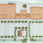 Kmart Townview Square Shopping Plaza Site Plan in Zephyrhills, FL