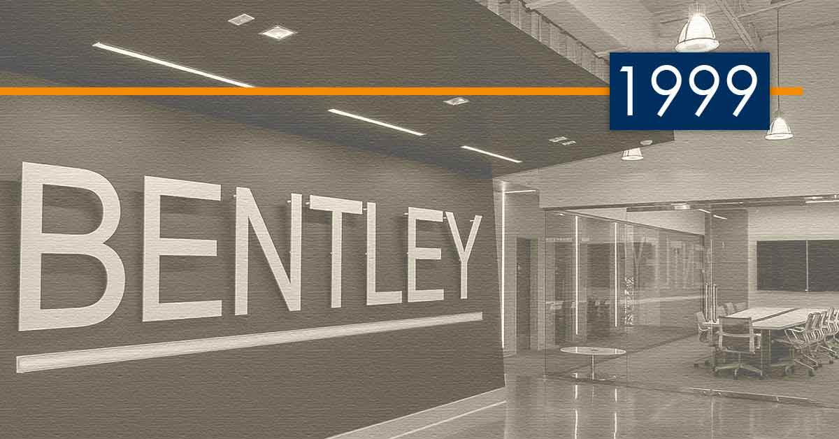 Bentley History and Development: 1999 – Expanding Transportation Engineering