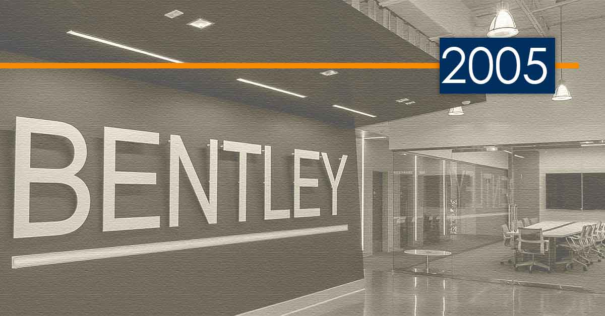 Bentley History and Development: 2005 – A Successful New Delivery Method