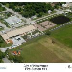 aerial kissimmee fire station