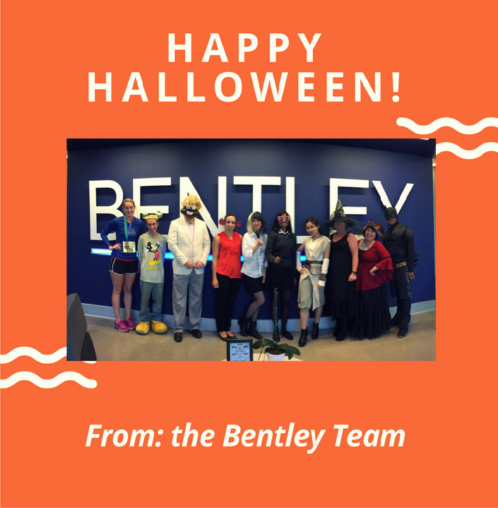 Bentley Staff Celebrating Halloween