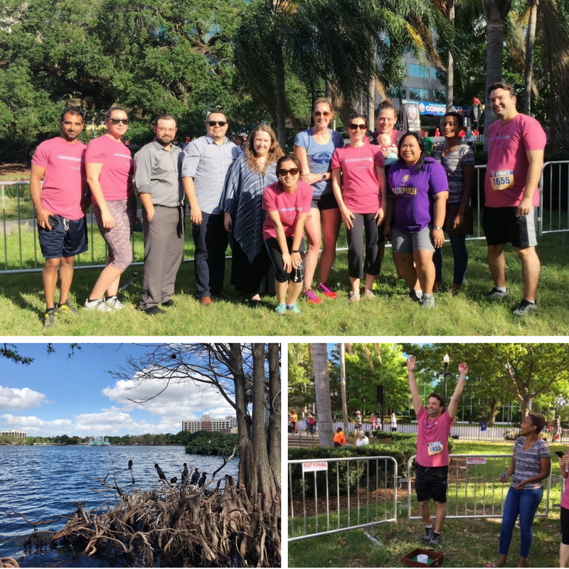 Bentley runs, walks and spectates the IOA Corporate 5K!