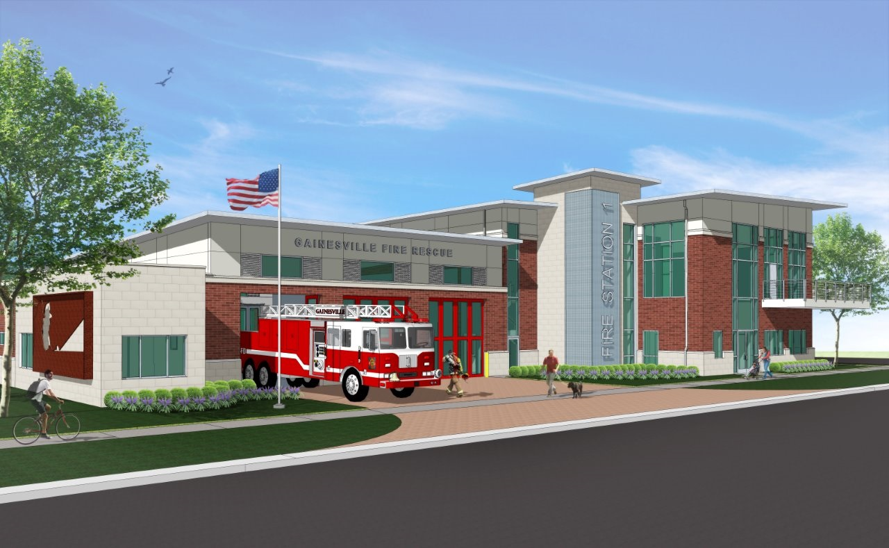 Gainesville Fire Station No. 1 Breaks Ground.